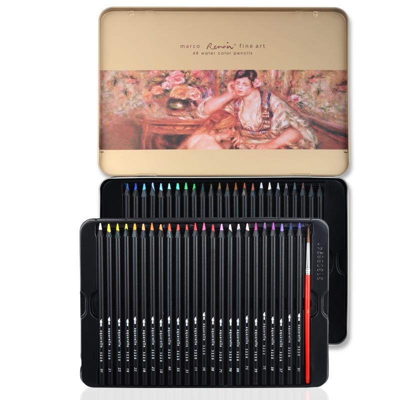γρατσουνιές γρατσουνιές στυλό Marco3220 Renoir 24/36/48 υδατοδιαλυτό επαγγελματικό μολύβι τέχνης τέχνης