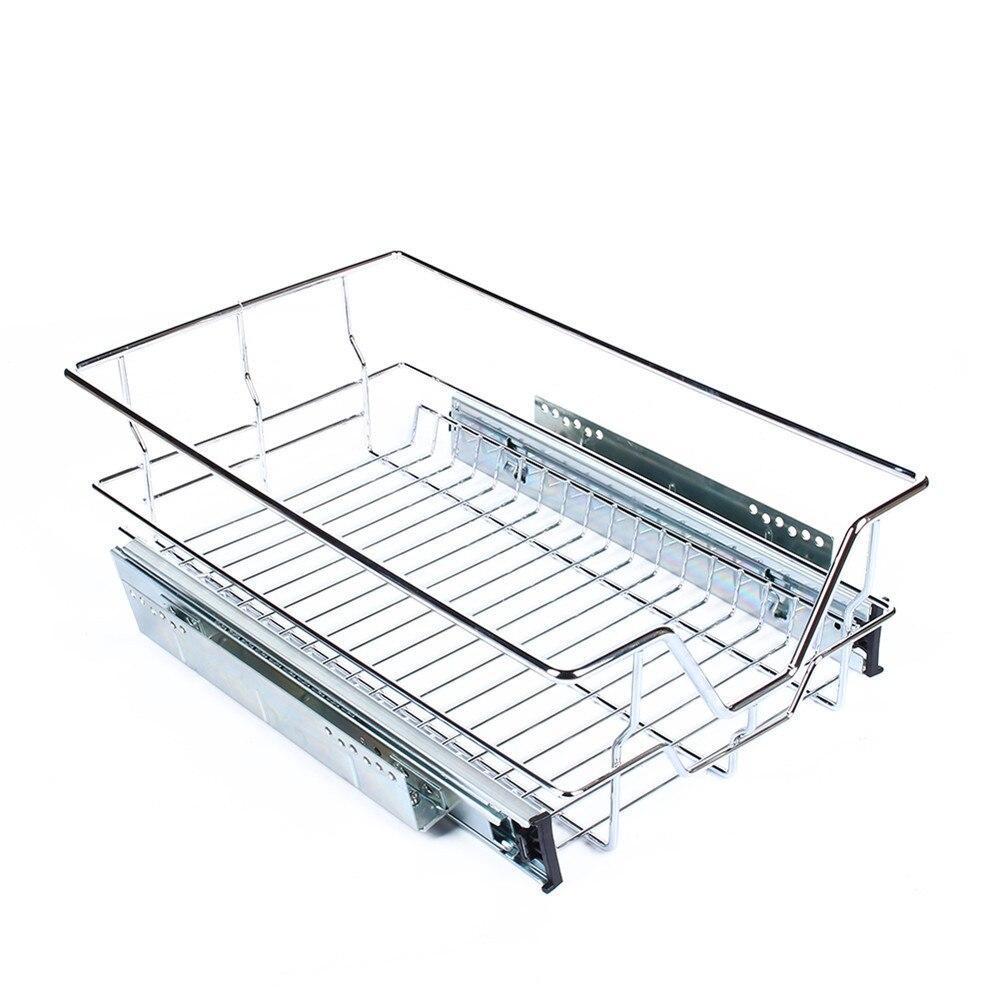 Küche Speisekammer Ziehen Schiebe Metall Unter Regal Ablagekorb ...