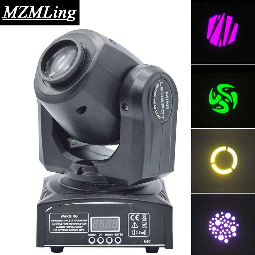 30W LED RGBW Spot Light DMX512 Moving Head Light Professional DJ /Bar /Party /Show /Stage Light LED Stage Machine niugul best quality 30w led dj disco spot light 30w led spot moving head light dmx512 stage light effect 30w led patterns lamp