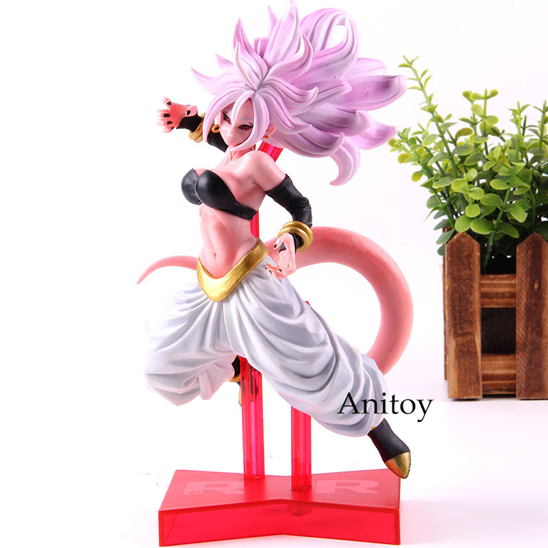 Game Dragon Ball Fighter Z Action Figure Android 21 Battle Ver. PVC Collection Model Toy Dragonball Birthday Gift