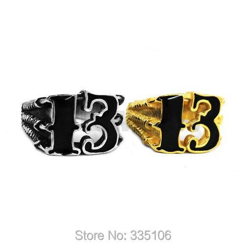 Kabei Punk Rock Flying Eagle Biker Stainless Steel Ring Size 7-13