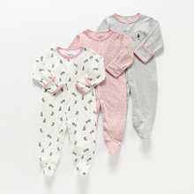 Baby Girl/boy Romper Baby Rompers 3 In 1 Flower New Born Baby Clothes Newborn Jumpsuit Infant Spring/autumn/winter pyjamas