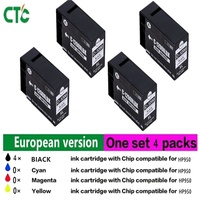 4PK 950XL For HP 950 XL 951XL HP950XL HP950 Ink Cartridge Compatible For HP Officejet Pro