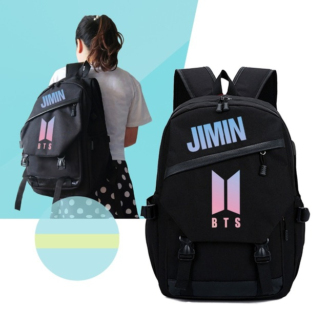 BTS BACKPACK WITH USB (7 VARIAN)