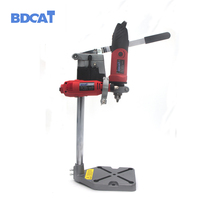 BDCAT Dremel Electric Drill Stand Power Tools Accessories Bench Drill Press Stand DIY Tool Base Frame Drill Holder Drill Chuck