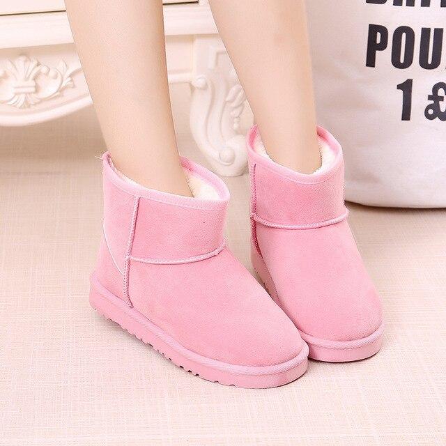 226537035981 Yorkzaler Winter Kids Snow Boots For Girls Boys High Tops Thicken ...