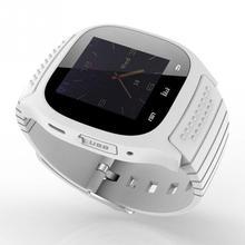 HEIßE sport Bluetooth Smart Uhr M26 armbanduhr smartwatch mit Zifferblatt SMS Erinnern Pedometer für Android-handy relogio wach