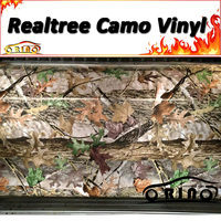Camo Vinyl Wrap REALTREE HARDWOODS Camouflage Film Wraps Truck Car Body Wrapping Covers DIY Styling Sticker