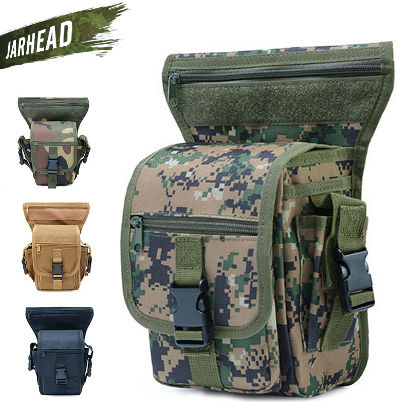 Hot Tactical Outdoor Sport Ride Leg Bag Military Sport Waist Bag Hunter Weapons Waterproof Drop Thigh Pouch Multi-Purpose