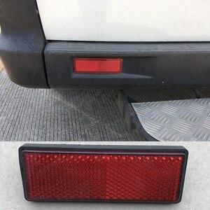 Image 4 - 6x красных прямоугольных резьбовых отражателей, прицепов, автофургонов, грузовиков, автобусов, задний/Сигнальный отражающий эффект, плюс 87*32*10 мм