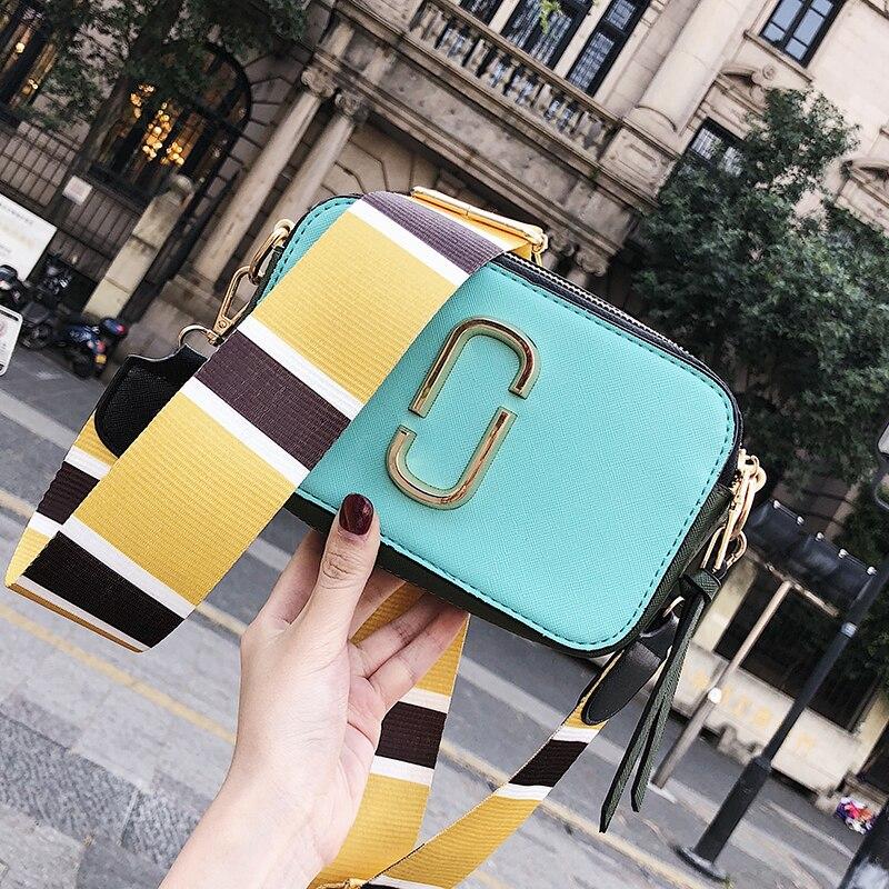 Image 2 - Summer Small Bag Girl Woman Luxury Handbags Women Bags Designer 2018 New Korean Style Camera Shoulder Bags Brand Messenger Bag-in Shoulder Bags from Luggage & Bags