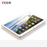 FUGN 10 inch Android Tablet 6.0 3G Phone Call Octa Core 4GB RAM GPS Wifi 1920*1200 IPS for Kids Gift with Keyboard Stylus