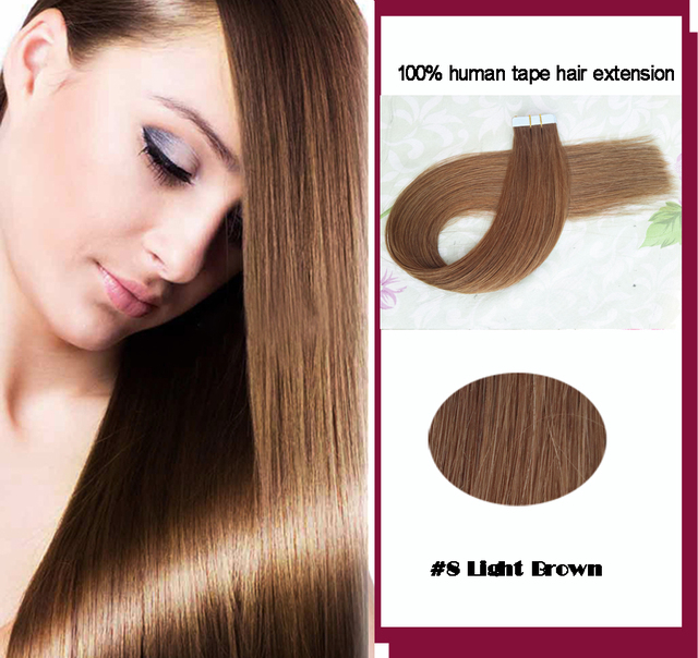 Tape Hair Extensions Skin Weft Hair Extensions Beauty Hair Diy