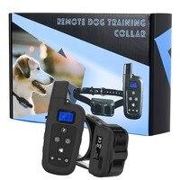 Бесплатная доставка удаленный собаки шок воротник водонепроницаемый аккумуляторная Вибратор бипер pet Кинологический ошейник для собаки