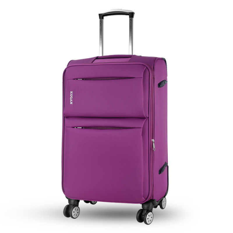 High quality 20 22 24 26inches oxford fabric travel luggae bags on universal wheels,large capacity trolley luggage bags