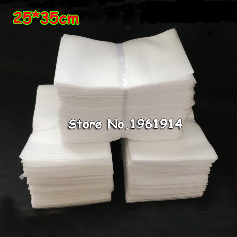 d5f269f62d 25*35cm 100Pcs 1mm EPE Foam Bags Protective Bag Wrap Embalajes Burbujas  Polietileno Verpakkings Materiaal For Packing Material