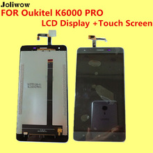 FOR Oukitel K6000 PRO LCD Display Touch Screen Tools 5 5 inch Digitizer Assembly Replacement Accessories