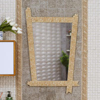 Art Luxury Bamboo Grain Picture Frame Rural Area Is Rural Household Between Wei Yu The Basin