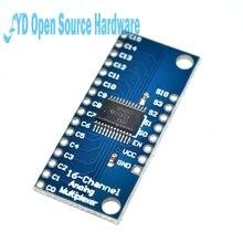 CD74HC4067, 5 uds., CMOS 16 de alta velocidad, multiplexor, analógico para Canal AnalogDigital