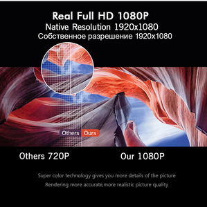 Image 4 - Everycom L6 1080p 풀 HD 프로젝터 네이티브 1920*1080 미니 휴대용 LED 비디오 프로젝터 WIFI 스마트 안 드 로이드 Beamer 아이폰에 대 한