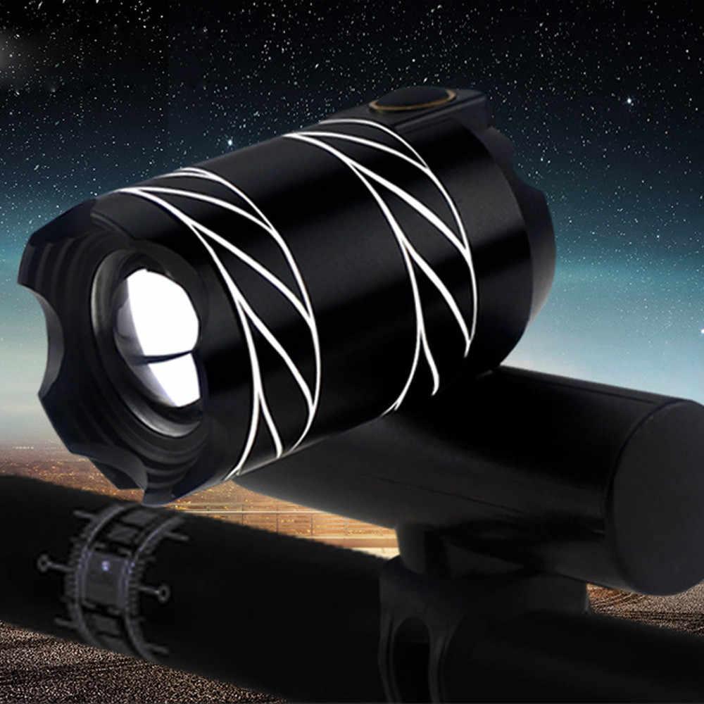 USB Перезаряжаемый XML T6 светодиодный велосипедный светильник, передняя велосипедная головная лампа, высокая-низкая-стробоскоп, низкая Горячая энергия, многоцелевой # OX