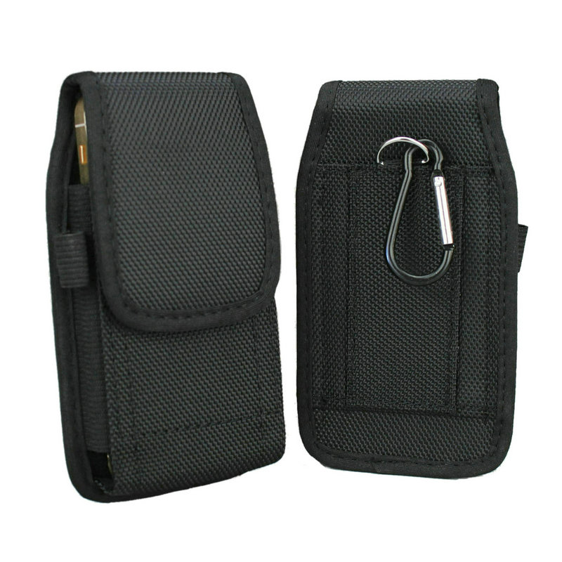 free shipping 8cc77 f099c Aliexpress.com : Buy Nylon Pouch Holster with Belt Clip/Loop for iPhone 5 /  5s / 5c / SE (Fits Phone with a Protective Case) from Reliable pouches for  ...