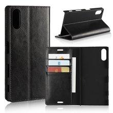Чехол для Sony Xperia XZ Обложка Бизнес роскошный кожаный бумажник Книга кошелек телефон сумка Fundas Coque Etui для Sony Xperia XZ capinha