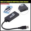 USB 3.0 Для HDMI MINI HD 1080 P Видео Кабель-Адаптер конвертер Для ПК Для Ноутбука для Windows 7 и 8, с Розничной Упаковке