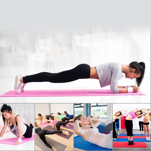 2016 TPE Yoga Mat For Fitness Lightweight Keep Slim Fit Accessory Training Mattress Exercise Equipment mat#H3