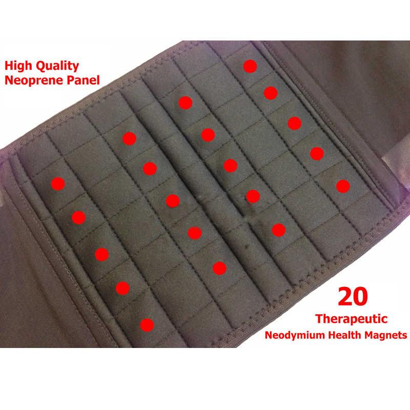 20 штук магниты корсет для спины Поддержка ремень Для мужчин медицинский корсет задний Поясничный поддерживающий массажер пояс магнитная защита Theropy Y020