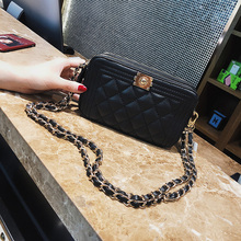 Lingge Small Bag Korean Version of the New Fashion High Quality Personality Shoulder Bag Casual Wild Messenger Bag Female
