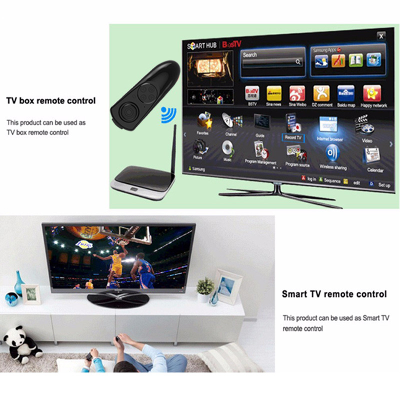 Wireless Bluetooth Gamepad TV PC VR Remote Controller For Android Joystick Game ios gamepa Control For 3D Glasses VR BOX 12