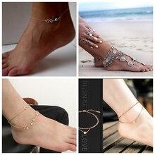 Ankle Bracelet Cheville Barefoot Sandals Foot Jewelry Leg Chain On Foot Pulsera Tobillo For Women цены