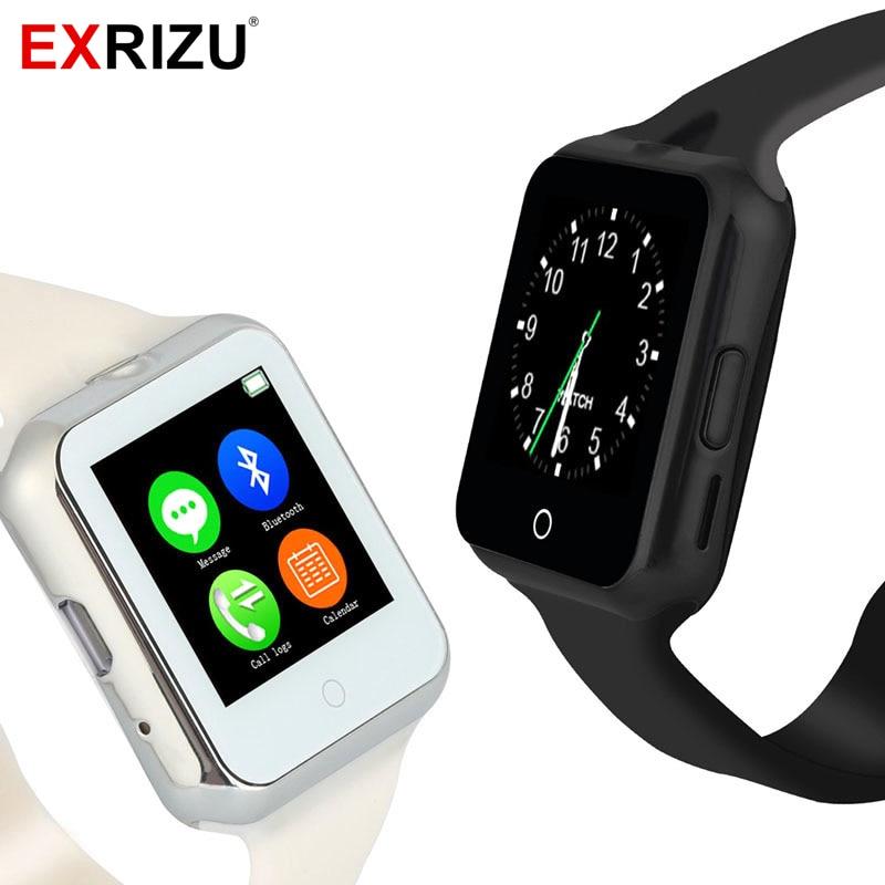 imágenes para EXRIZU D3 Bluetooth Inteligente Observar Durante Kid Boy Girl Soporte Teléfono Android GSM SIM Card TF Niños Pulsómetro Smartwatch