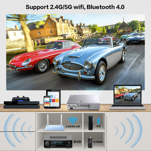 Image 3 - CRENOVA 2019 Newest Laser Projector For Full HD 1080P  Home Theater Movie Android DLP Projector HD 720P WIFI Bluetooth Beamer