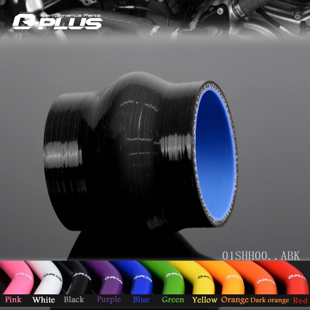 Free Shipping Gplus 2 1/4 57mm Hump Straight Silicone Hose Intercooler Coupler Tube Pipe