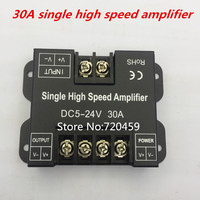 30A single high speed amplifier 5-24V LED Amplifier Data Signal Repeater Power Amplifier for LED Single Color Strip Lights