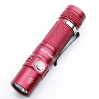 Sofirn SP10B Red Color Mini Lamp LED Flashlight AA 14500 Pocket Light Cree XPG2 600lm Keychain