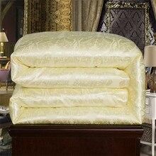 Ручной постельные принадлежности 100% натуральный / шелковицы для зима / лето две королевы короля в полный размер одеяло / 4 цветов