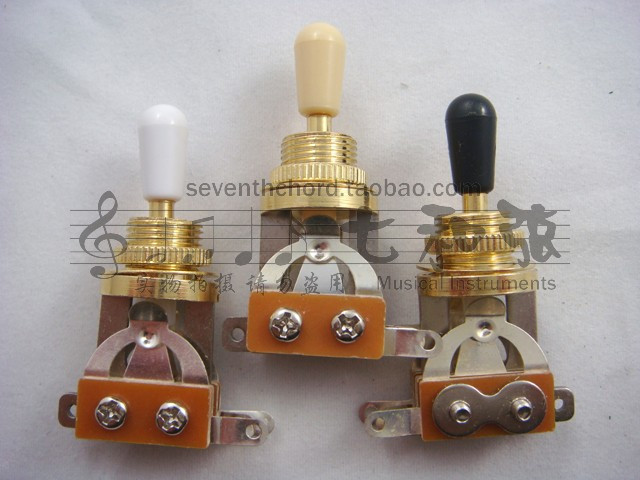gold plating electric guitar gear device three gears timbre switch shaking head guitar three. Black Bedroom Furniture Sets. Home Design Ideas