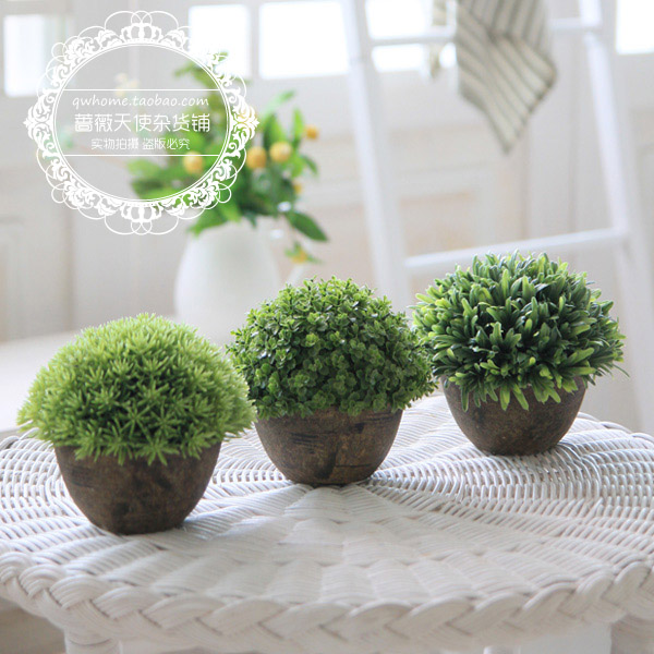 Free Shipping Diameter 13cm For Za Kka Vintage Artificial Plants Home Decoration Small
