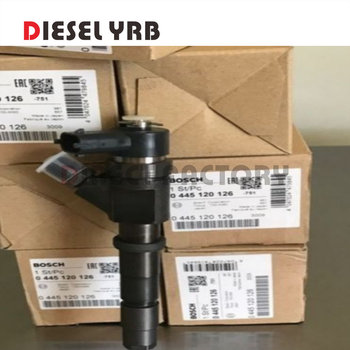4 PCS Common Rail Injector 0445120126 0 445 120 126 For SK130-8 SK140-8 genuine and brand new