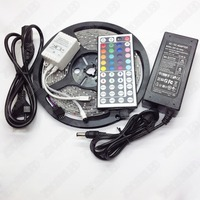 LED Strip 5M 300LEDs 3528SMD Waterproof IP65 RGB LED Neon Light Magic Color 44Key Remote Controller