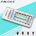 8 slots nimh nicd battery charger with LED indicator for aa aaa battery