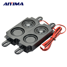 AIYIMA 2Pcs Audio Portable Speakers 10045 Box Double Diaphragm Speaker 8Ohm 5W DIY Mini TV Speakers