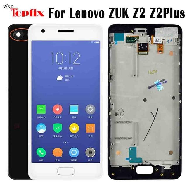"""Per Lenovo ZUK Z2 Più Il Display Touch Screen Digitizer Z2 Più A CRISTALLI LIQUIDI Per 5.0 """"Lenovo ZUK Z2 LCD Con telaio di Ricambio Shippin Libero"""
