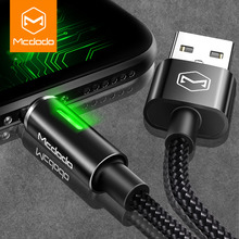 MCDODO Auto Disconnect USB Charger Cable for iPhone Xs Max XR 8 Plus Cable Fast Charger For iPhone 6 6S Mobile Phone Data Cable