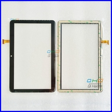 "Envío libre pantalla táctil de 10.1 ""pulgadas, 100% Nuevo para DEXP URSUS TS210 TS 210 panel táctil, Tablet PC de panel táctil digitalizador"