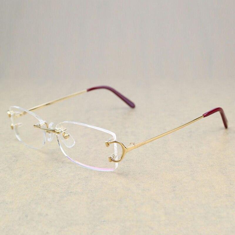 2017 Optical Glasses Frame for Men Glasses Men Optical Fill Prescription Eyeglasses Frames Carter Glasses for