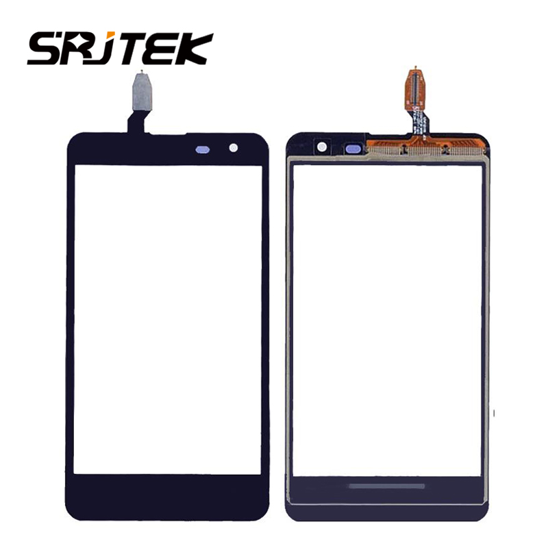 Srjtek For <font><b>Nokia</b></font> <font><b>625</b></font> Touchscreen Front Panel Digitizer For <font><b>Nokia</b></font> <font><b>Lumia</b></font> <font><b>625</b></font> N625 <font><b>Touch</b></font> <font><b>Screen</b></font> <font><b>Sensor</b></font> Glass <font><b>Sensor</b></font> With 3M Tape image
